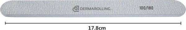 Dermarolling Professionele Nagelvijl Zebra Grit 100/180
