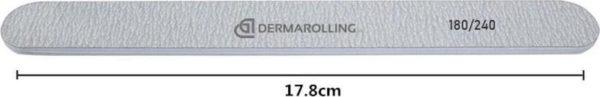 Dermarolling Professionele Nagelvijl Zebra Grit 180/240