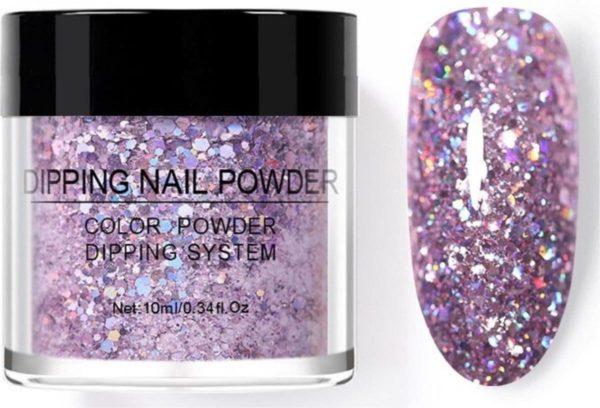Dip poeder nagels - Dream Garden - Glitter - Geschikt voor acryl nagels - Nail art - Nagellak - Dip powder - Moeder cadeau - Romantisch - Vriendinnen - Liefdes - Vrouwen - Dames