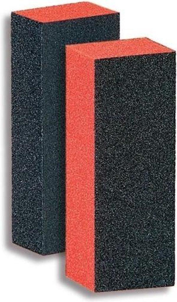 Donegal 3-Way Emery Block Buffer Black/Orange - 9351