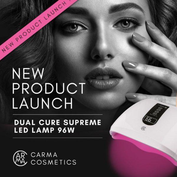 Dual Cure Supreme LED Lamp 96W + 1 x Roze Gellak 'Mesmeric' er gratis bij.