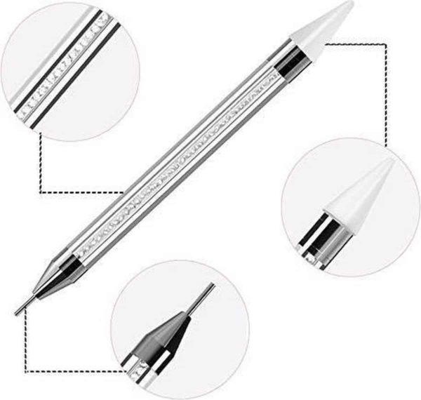 Dual Dotting Tool - Professioneel - Nail Art - Rhinestones