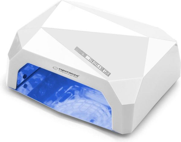 ESPERANZA UV LAMP FOR NAILS ONYX WHITE - nageldroger