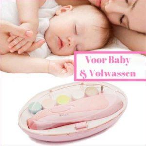 Electrische Baby nagelset