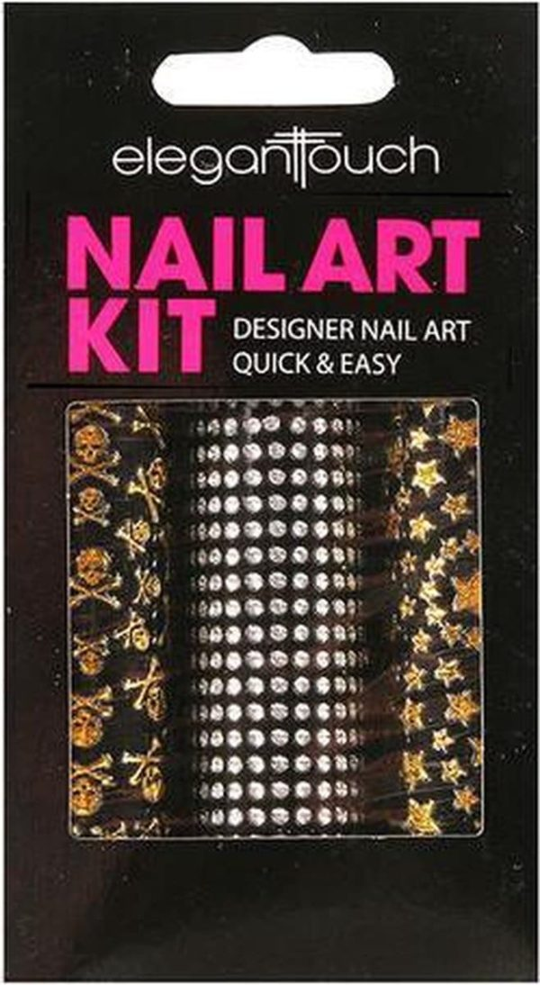 Elegant Touch Nail Art Kit