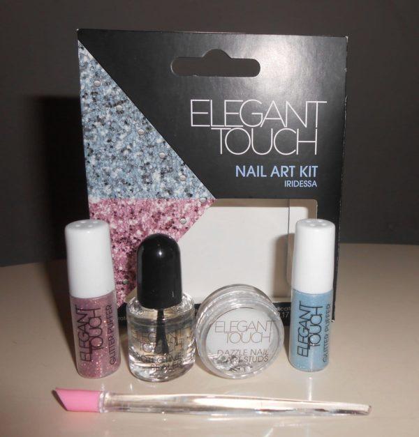 Elegant Touch Nail Art Kit Iridessa 5 Delig