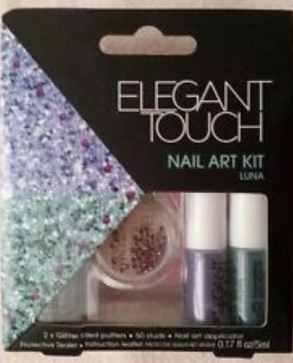 Elegant Touch Nail Art Kit Luna 5 delig