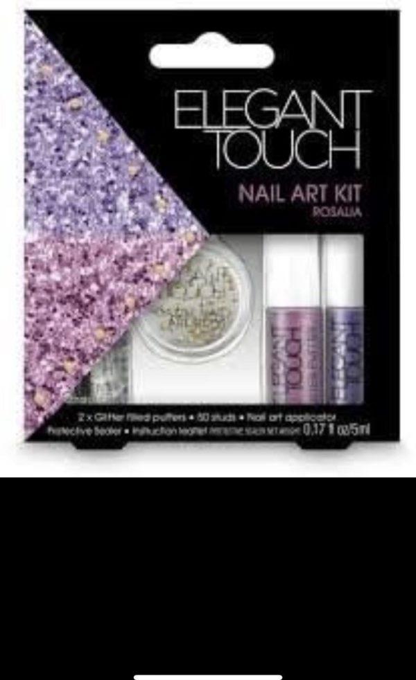 Elegant Touch Nail Art Kit Rosalia 5 delig