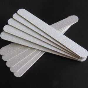 Emery board vijl (10 stuks) dunne nagel vijl 100/180 acryl gel polygel gelnagellak gelpolish