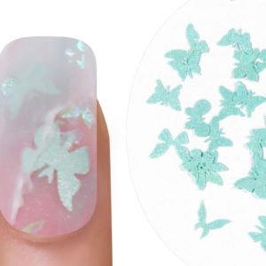 Emmi-Nail Butterflies Turquoise 1