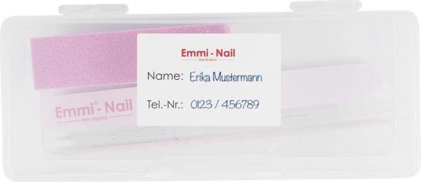 Emmi-Nail Hygiene Klantenbox voor vijlen, bokkepoot