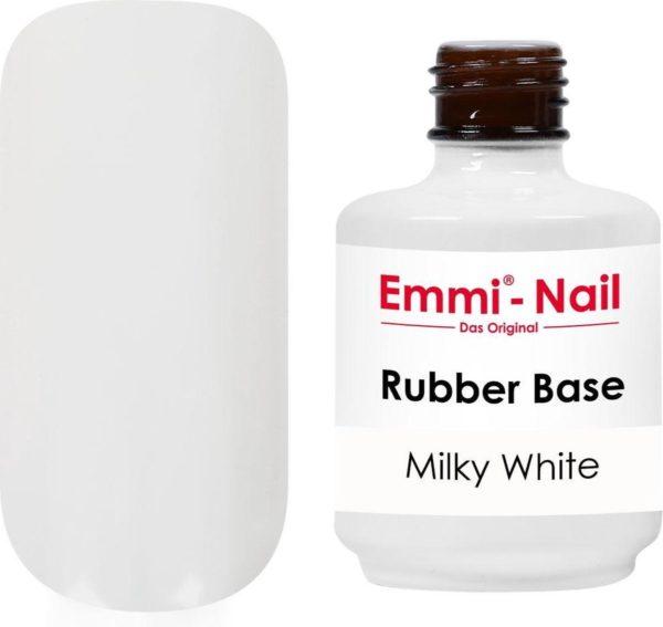 Emmi-Nail Rubber Base Milky White, 15 ml