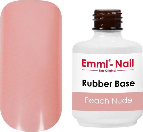 Emmi-Nail Rubber Base Peach Nude, 15 ml