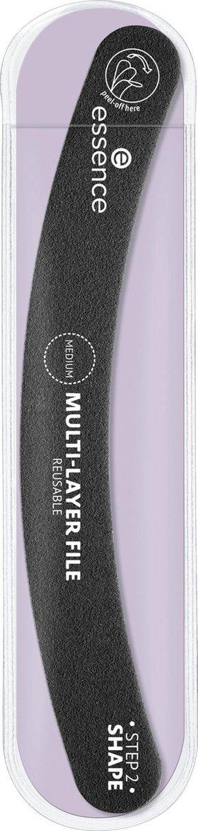 Essence Cosmetics Nagelvijl MULTI-LAYER FILE - Banaan vijl - 2 steps (1 stuk)