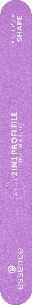 Essence cosmetics Nagelvijl 2IN1 PROFI FILE (1 stuk)