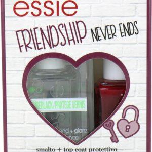 Essie Friendship Never Ends Nagellak - Angora Cardi - Good To Go Topcoat