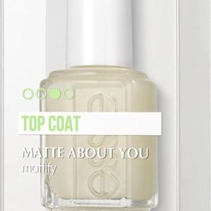 Essie Matte About You Mattifying Topcoat