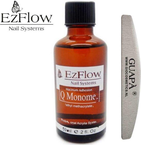 EzFlow® Acryl vloeistof voor het maken van acryl nagels   Acrylic Liquid   Monomer voor acryl poeder   59 ml