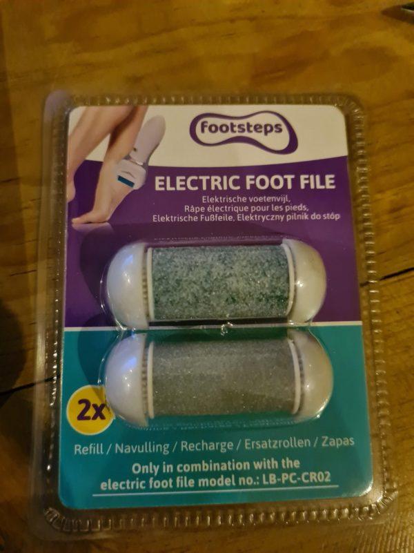 Footsteps - Elektrische voetenvijl NAVULLING 2