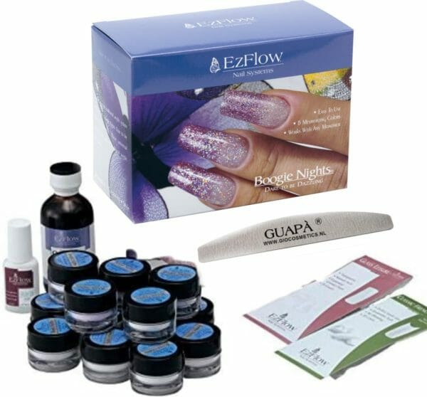 GUAP� Acryl Nagels Starterspakket 15 Kleuren Glitter Poeders Acryl - Acryl Nagels Starter Kit - Nail Art Set | Dare to be Dazzling