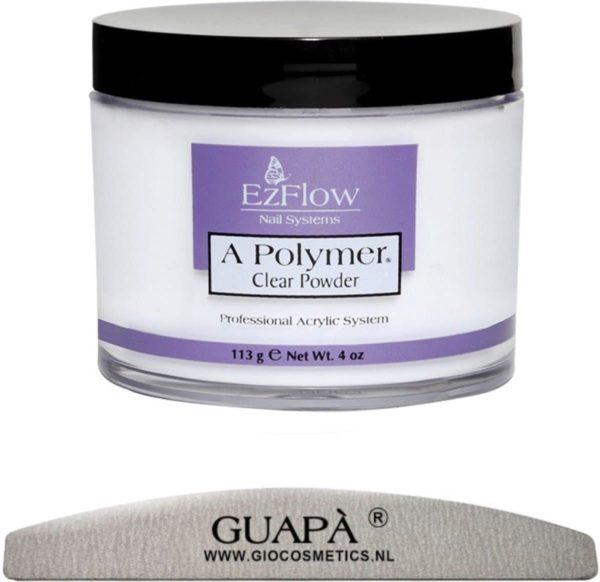 GUAP� Acryl Poeder Transparant 21 gr
