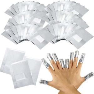 GUAP� Gellak Nagel Verwijderaar Wraps voor alle Gel Nagels   Gel Nagellak Remover   Soak Off Folie   50 stuks