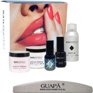 GUAP� acryl nagels starterspakket | 6 Delig | Inclusief acryl poeder & acryl vloeistof