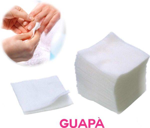 GUAPÀ - Celstofdeppers Pluisvrij voor het reinigen / voorbereiden / verwijderen van je Gel - Acryl - Poly Gel Nagels & Nagellak - 100 stuks