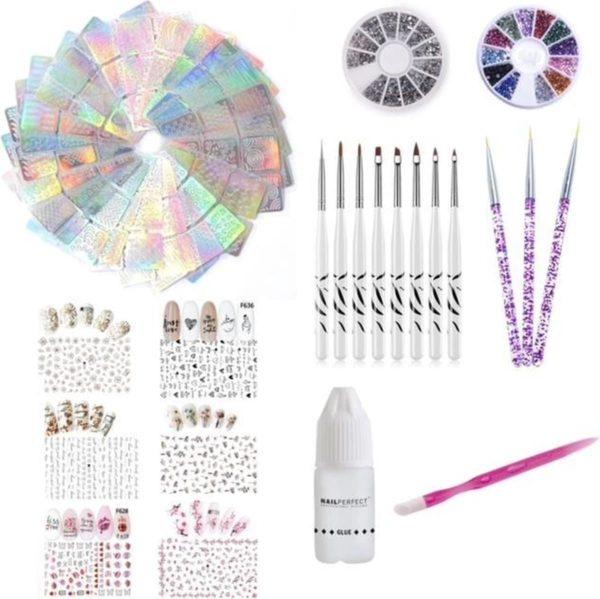 GUAPÀ - Complete Nagel Nail Art Kit met alles voor het maken van prachtige nagels