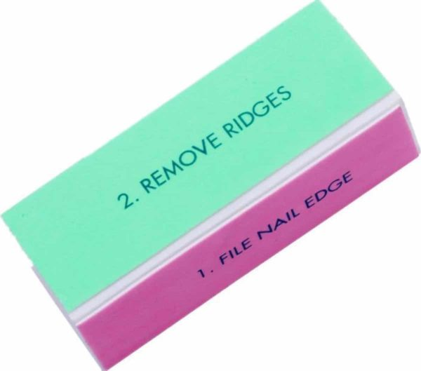 GUAPÀ Nagelvijl Buffer Blokvijl 4 steps voor natuurlijke nagels - 1 stuk - Manicure en Pedicure vijl