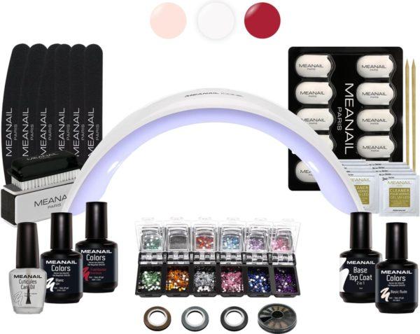 Gel Nagellak - MEANAIL®DESIGN deluxe kit - UV LED Lamp voor gellak