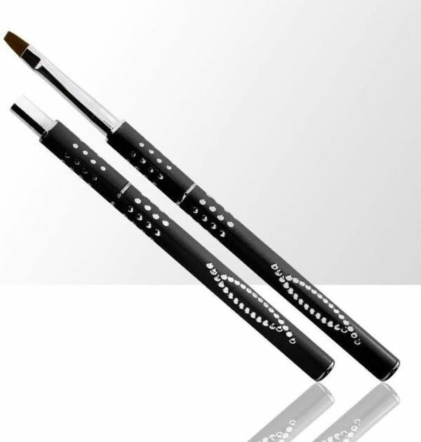 Gel-Penseel Zwart #6 -Nail Brush - Gel penseel -Nagel Penselen - Nagel Gel - Nagel Kwasten