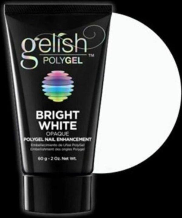 Gelish POLYGEL Nail Enhancement Bright White - 2 oz / 60 g