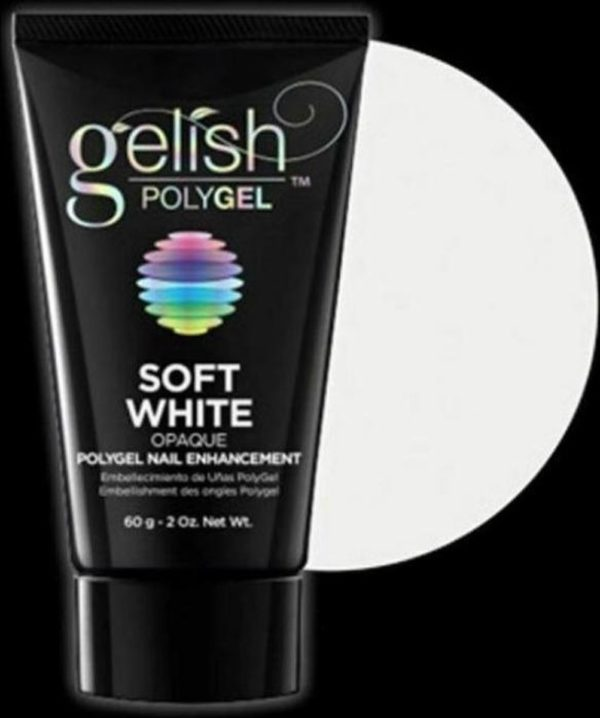 Gelish POLYGEL Nail Enhancement Soft White - 2 oz / 60 g