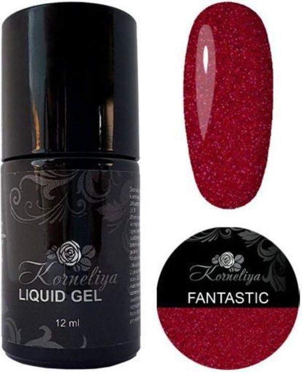 Gellak - Korneliya Liquid Gel Moulin Rouge FANTASTIC 12ml
