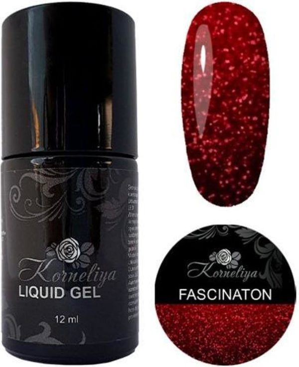 Gellak - Korneliya Liquid Gel Moulin Rouge FASCINATION 12ml