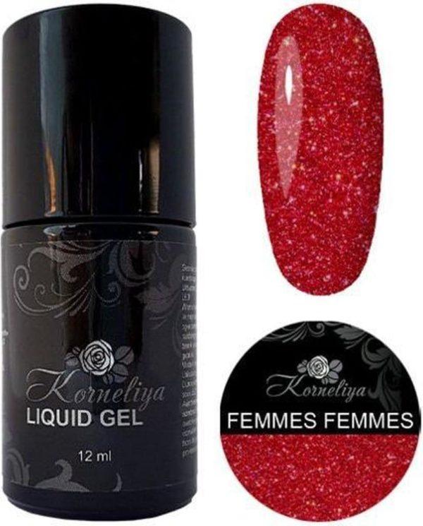 Gellak - Korneliya Liquid Gel Moulin Rouge FEMMES FEMMES 12ml