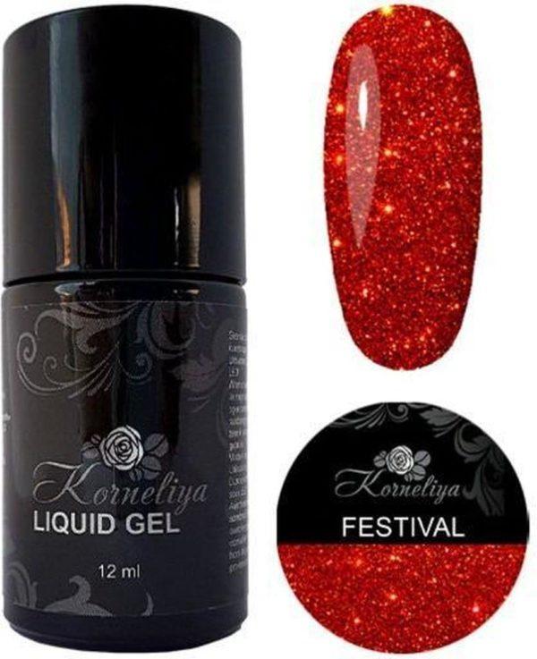 Gellak - Korneliya Liquid Gel Moulin Rouge FESTIVAL 12ml