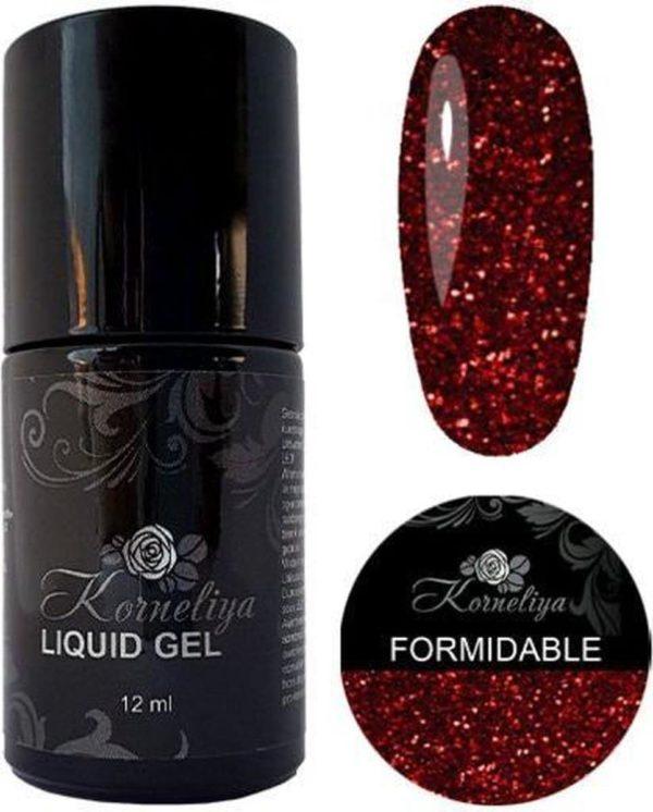Gellak - Korneliya Liquid Gel Moulin Rouge FORMIDABLE 12ml