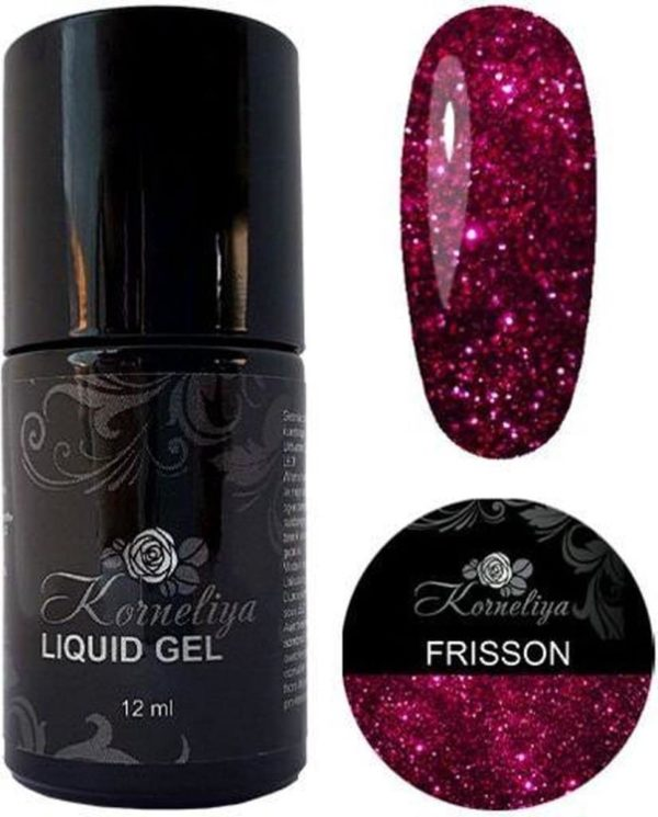 Gellak - Korneliya Liquid Gel Moulin Rouge FRISSON 12ml
