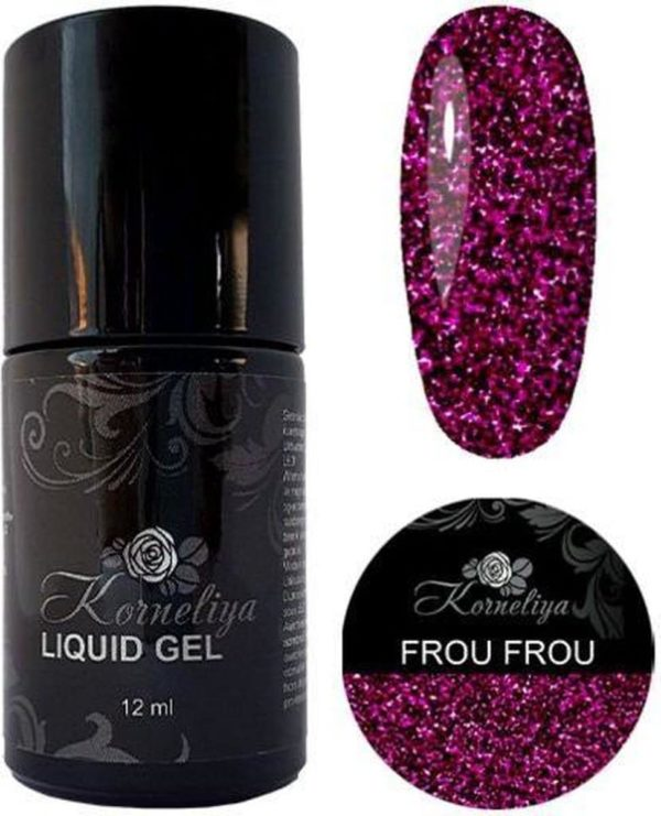 Gellak - Korneliya Liquid Gel Moulin Rouge FROU FROU 12ml