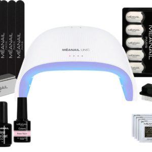 Gellak - MEANAIL® Starterset - UV/LED lamp 48W - Gel nagellak - Basic Nude