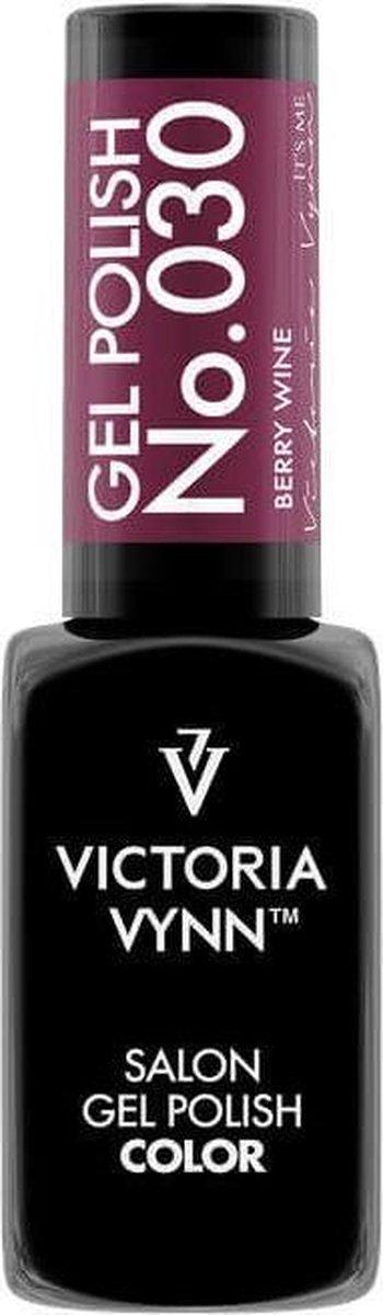 Gellak Victoria Vynn™ Gel Nagellak - Salon Gel Polish Color 030 - 8 ml. - Berry Wine
