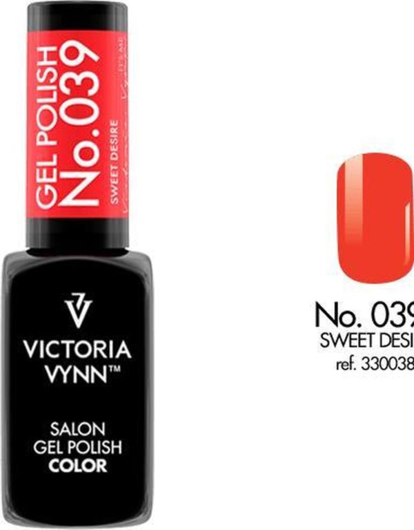 Gellak Victoria Vynn™ Gel Nagellak - Salon Gel Polish Color 039 - 8 ml. - Sweet Desire