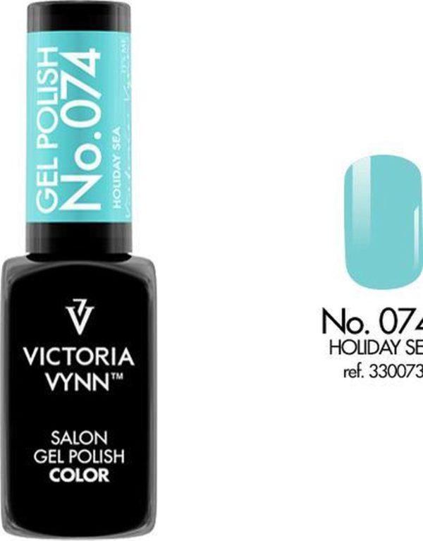 Gellak Victoria Vynn™ Gel Nagellak - Salon Gel Polish Color 074 - 8 ml. - Holiday Sea