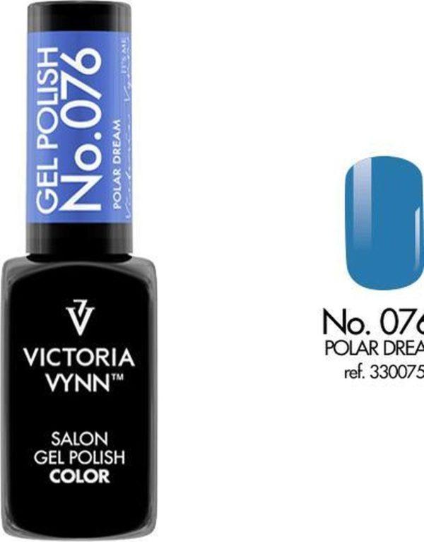 Gellak Victoria Vynn™ Gel Nagellak - Salon Gel Polish Color 076 - 8 ml. - Polar Dream