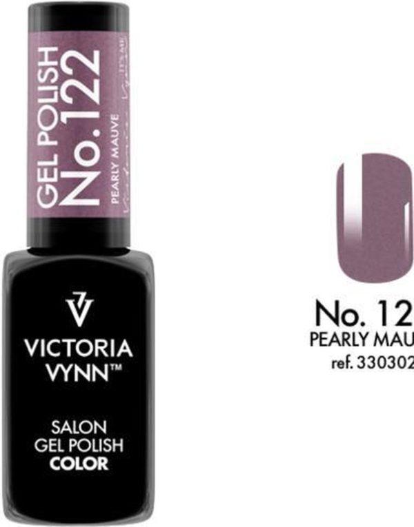 Gellak Victoria Vynn™ Gel Nagellak - Salon Gel Polish Color 122 - 8 ml. - Pearly Mauve