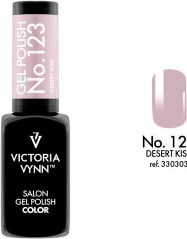 Gellak Victoria Vynn™ Gel Nagellak - Salon Gel Polish Color 123 - 8 ml. - Desert Kiss