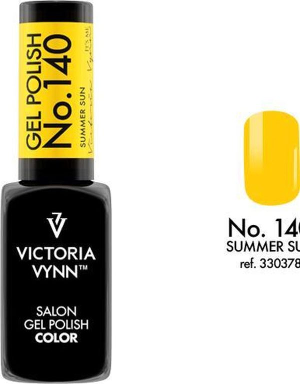 Gellak Victoria Vynn™ Gel Nagellak - Salon Gel Polish Color 140 - 8 ml. - Summer Sun