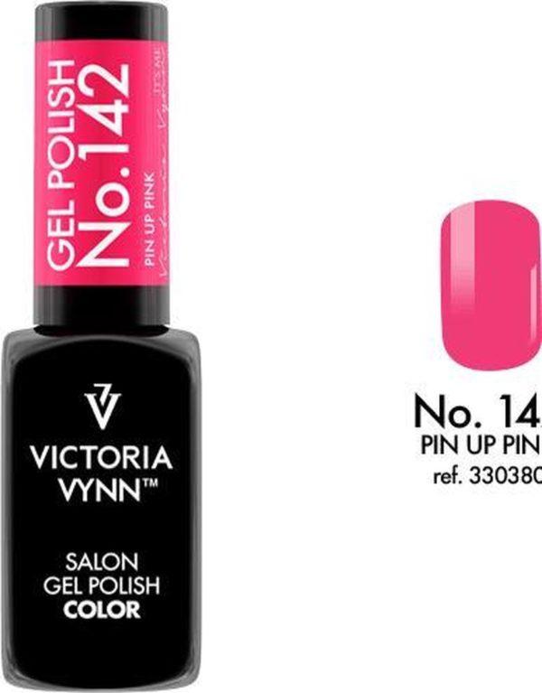 Gellak Victoria Vynn™ Gel Nagellak - Salon Gel Polish Color 142 - 8 ml. - Pin Up Pink